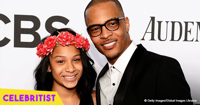 Deyjah Harris shares flashback photo & touching message to T.I. for being a great dad