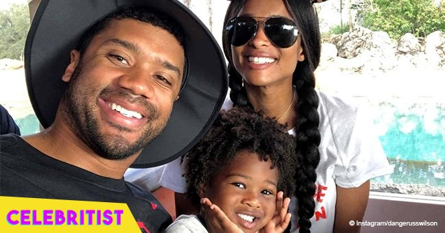 Ciara and Russell Wilson gift son Future Zahir with a helicopter ride for his 4th birthday