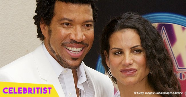 Lionel Richie's ex-wife stuns in off-the-shoulder wedding dress in flashback pic